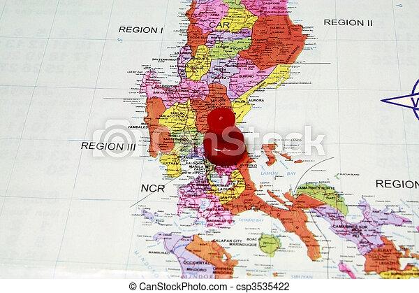 Manila Philippines Circa 2008 - csp3535422