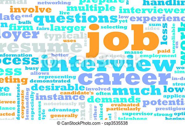 Job Interview - csp3535538