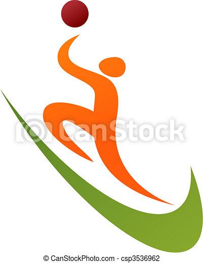 Basketball icon / logo - csp3536962