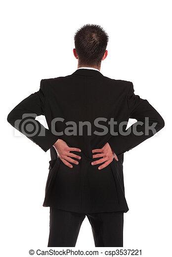 Backache - csp3537221