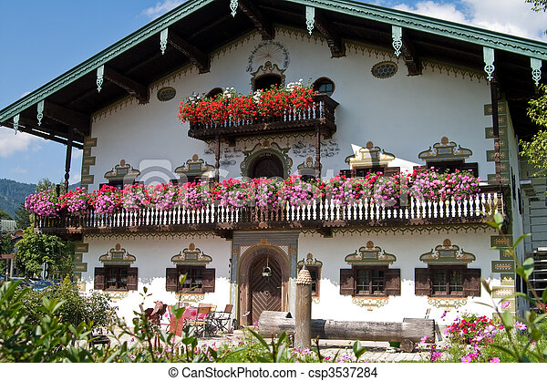 Traditional German House 3537284 on Old English Cottage Style Homes