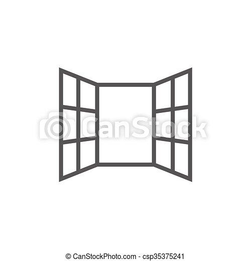 Open Window Drawing