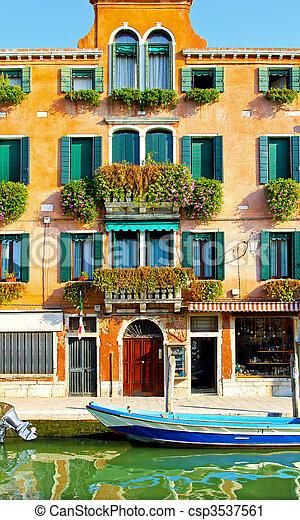 Murano house - csp3537561