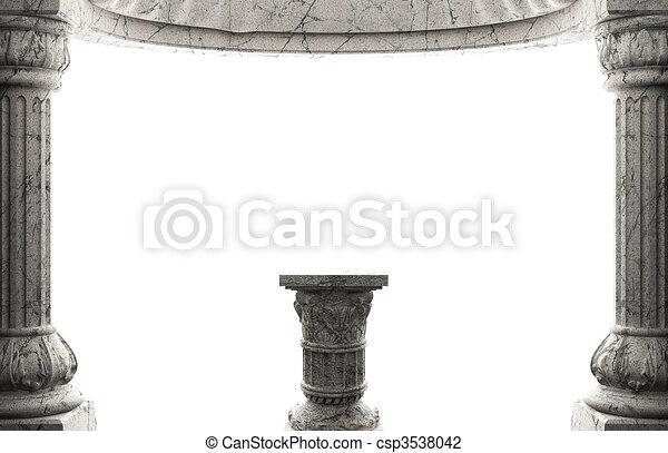stone column  - csp3538042