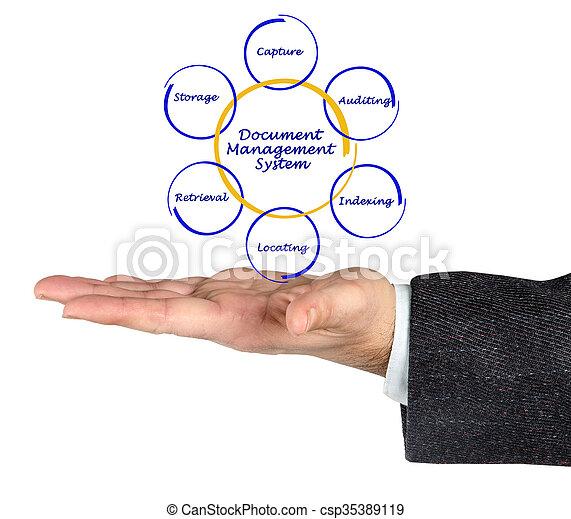 data management system diagram