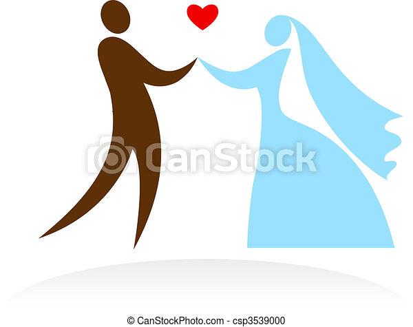 Wedding scene - 2 - csp3539000
