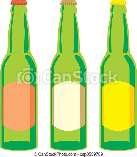 Beer Bottles Drawing Beer Bottle Clipart