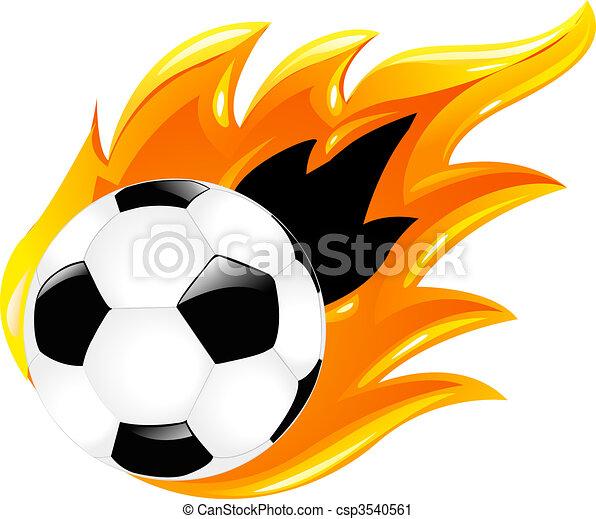 Two Soccer Balls - csp3540561