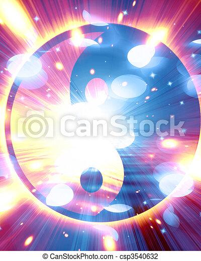 Yin Yang sign - csp3540632