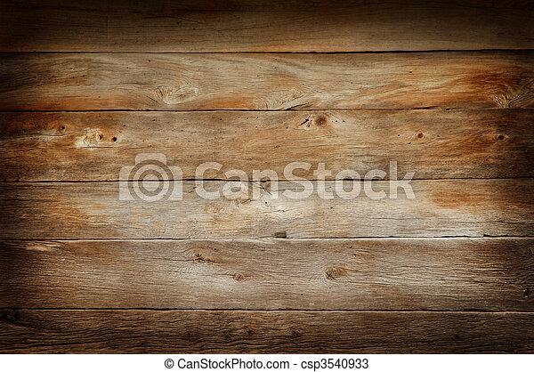 木頭, 背景, 結構 - csp3540933