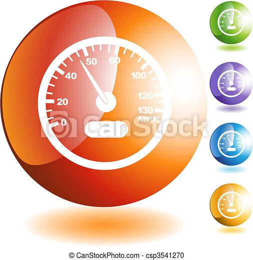 Speedometer - csp3541270