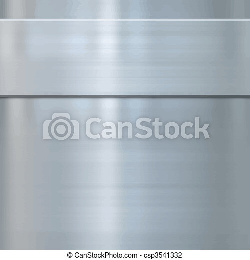 fine brushed steel metal - csp3541332