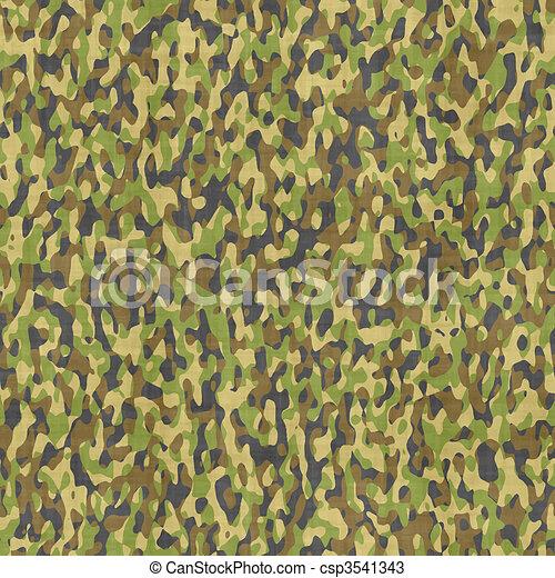 camouflage cloth - csp3541343