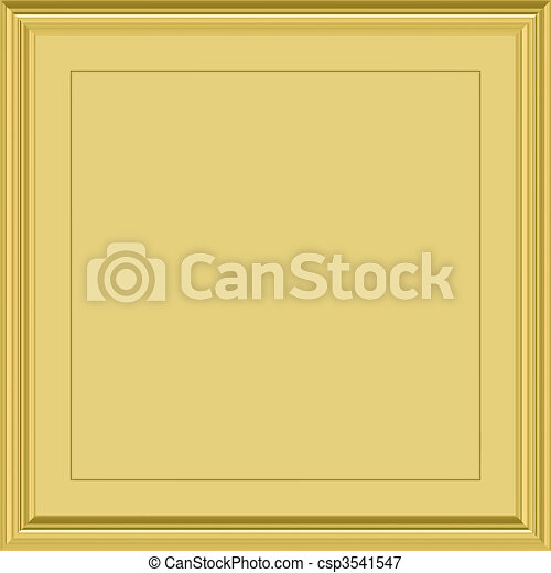 gold plaque - csp3541547