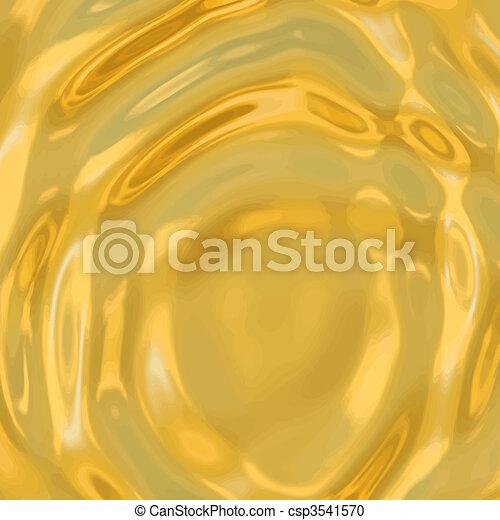 gold ripples - csp3541570