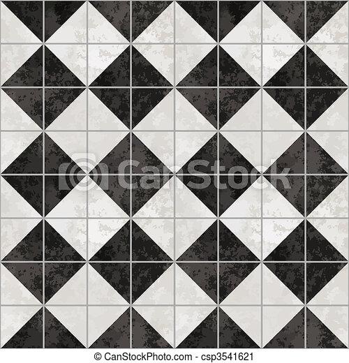 Black and white diamond checkered wallpaper