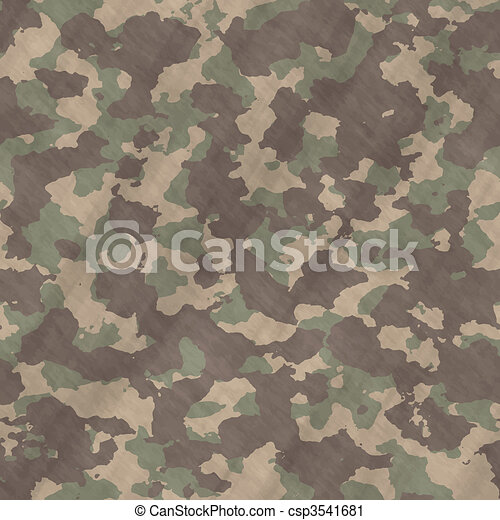 camouflage material background texture - csp3541681