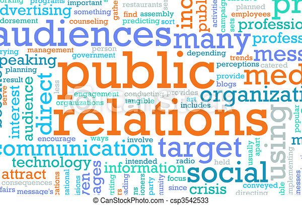 Public Relations - csp3542533