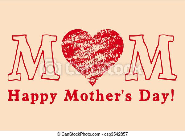 Happy Mother\\\'s Day - csp3542857