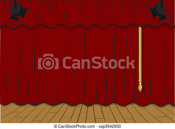 Theater stage - csp3542930