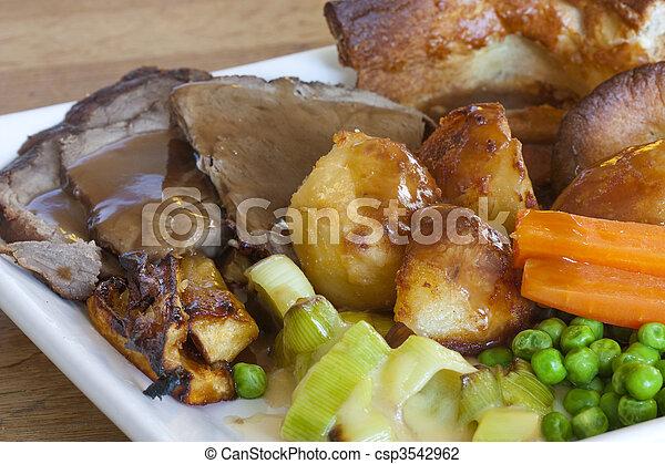 sunday roast - csp3542962