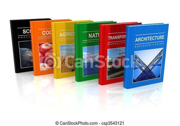 Set of scientific books  - csp3543121