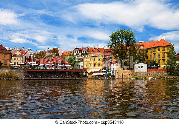 Old Town in Prague, Czech Republic - csp3543418