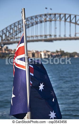 Sydney Bay, August 2009 - csp3543456