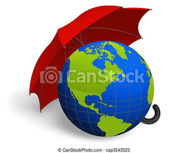 Environment protection concept  - csp3543523