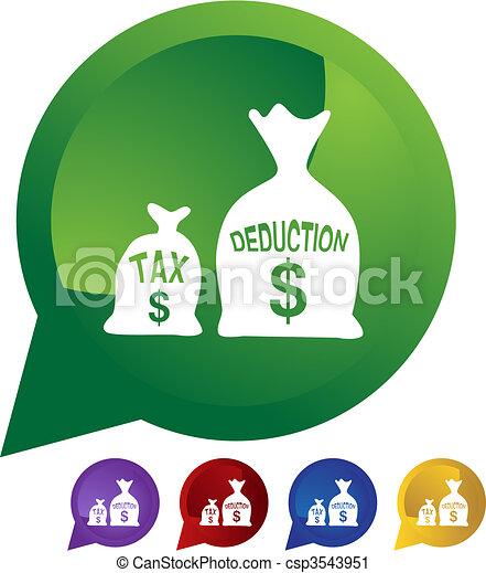 Tax Deduction - csp3543951