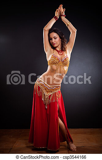 Belly dancer - csp3544166