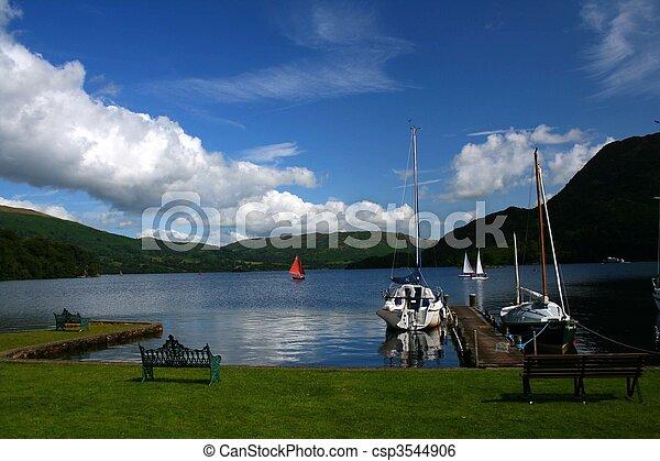 the lakes uk - csp3544906