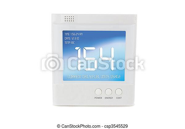 Energy concumption metre - csp3545529