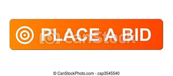 Place Bid Orange - csp3545540