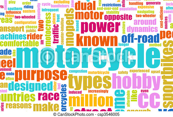 Motorcycle Hobby - csp3546005