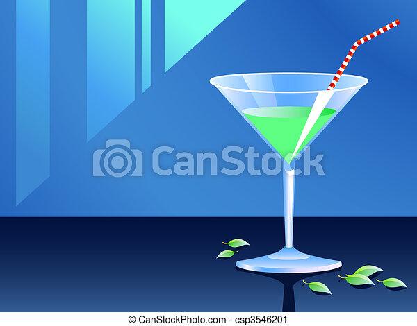 Cocktail glass - csp3546201