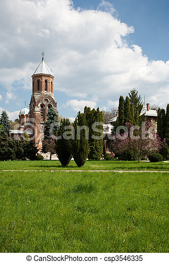 Curtea de Arges monastery, travel, destination - csp3546335