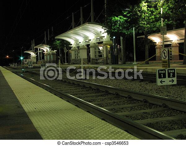 estación, tranvía - csp3546653