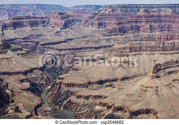 Majestic Vista of the Grand Canyon - csp3546682