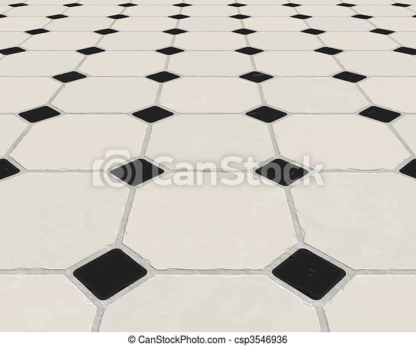 marble tiled floor - csp3546936
