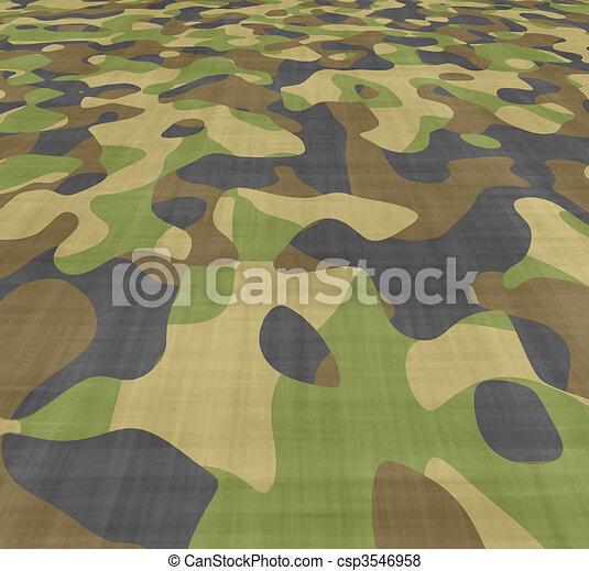 spread camouflage - csp3546958