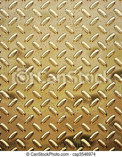 rough gold diamond plate - csp3546974