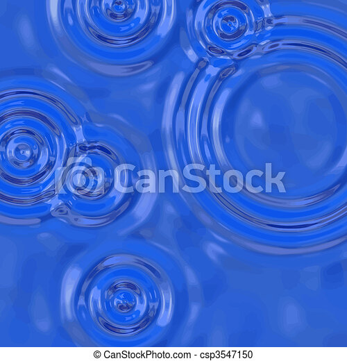 water ripples - csp3547150