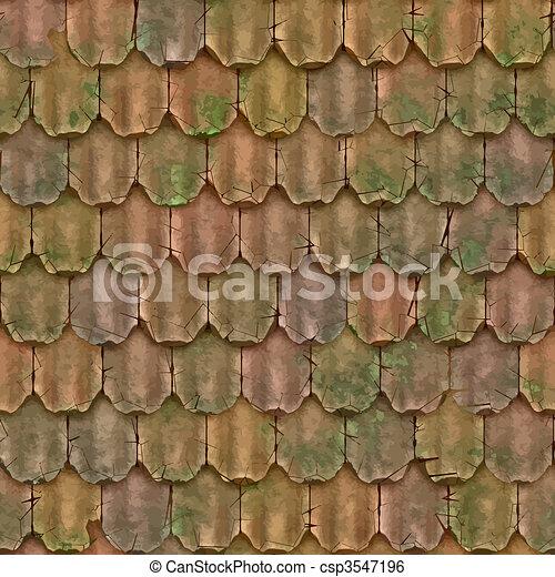 roof tiles - csp3547196