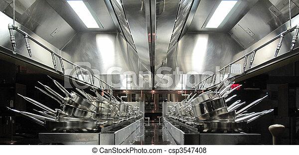 Industrial Kitchen - csp3547408