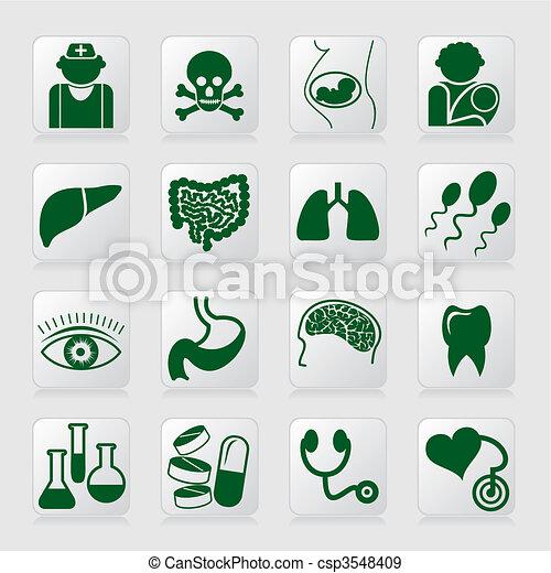 medical symbols - csp3548409