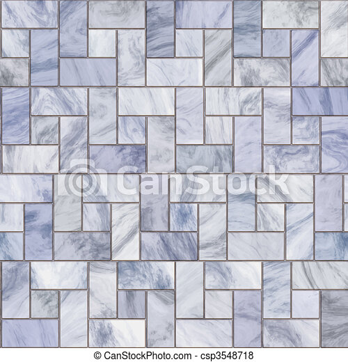 marble pavers or tiles - csp3548718