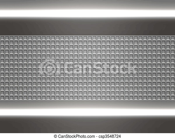 metal steel or aluminium plate - csp3548724