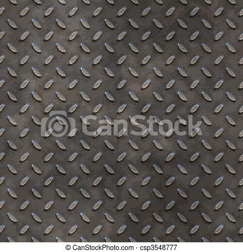 worn tread plate - csp3548777