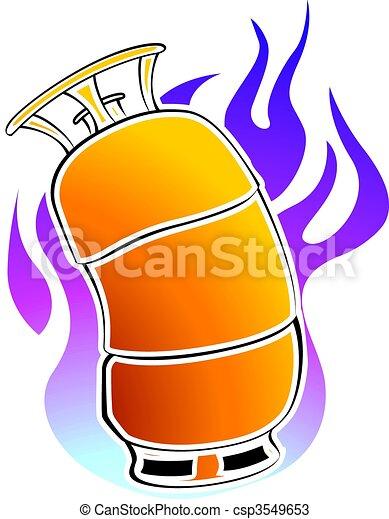 Gas cylinder - csp3549653